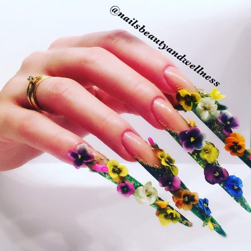 extreme stiletto Nails Beauty and Wellness