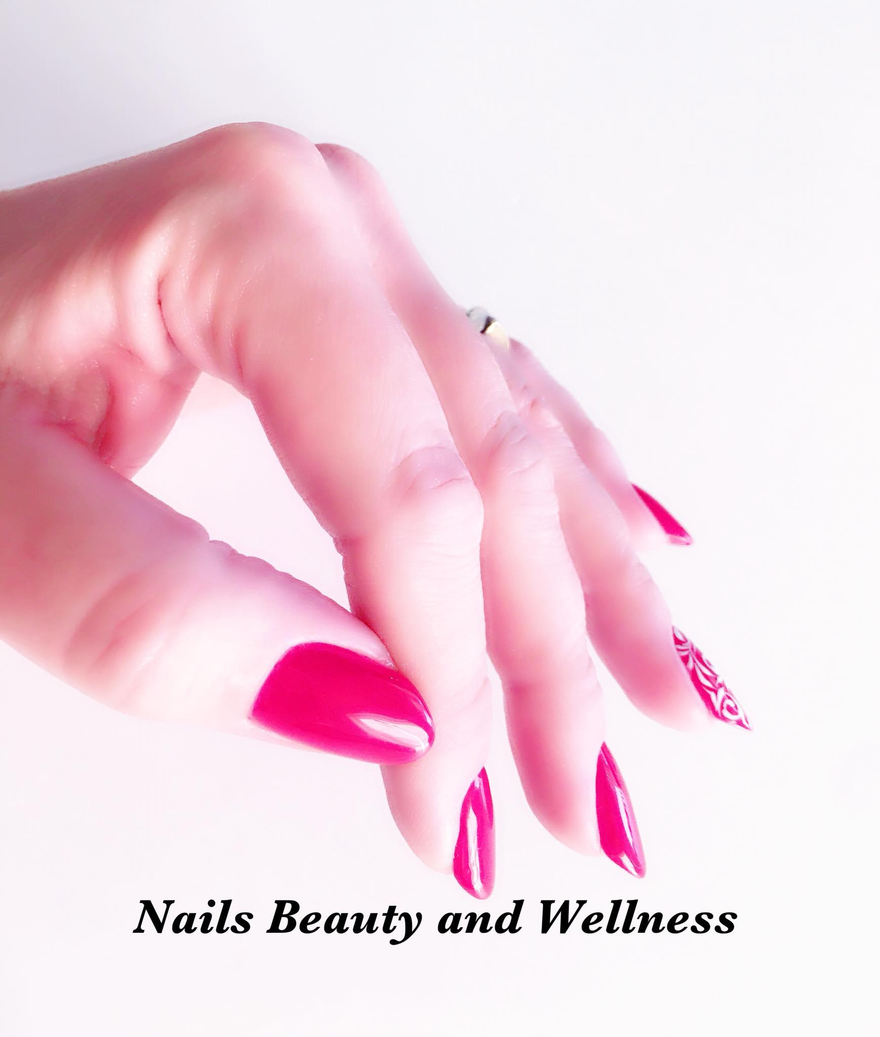 Gel Polish Nails Beauty and Wellness
