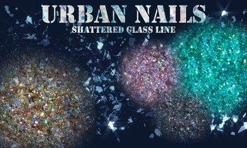 Shattered glas
