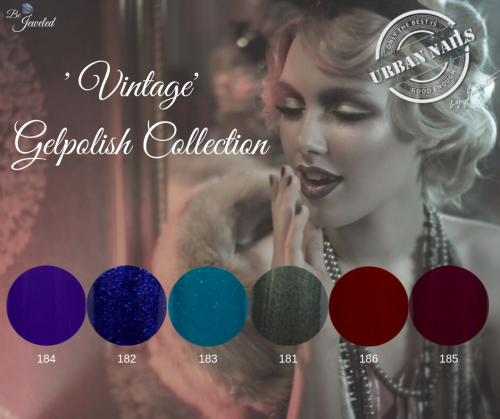 ' Vintage' Gelpolish Collection
