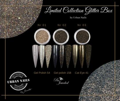 LCB1-3 Urban glitter collection