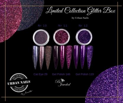 LCB10-12 Urban glitter collection
