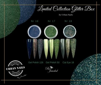 LCB16-18 Urban glitter collection