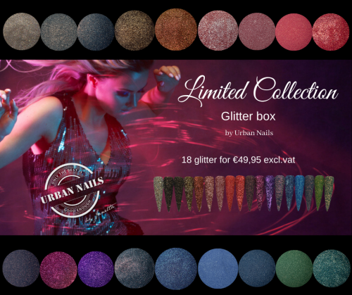 LCB Urban glitter collection