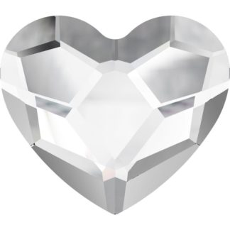 Heart Flat Back Crystal 6mm